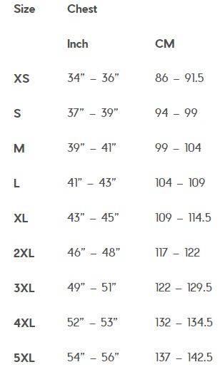2019 Warriors jersey size chart.JPG