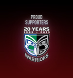 Proud Supporters of the Vodafone Warriors